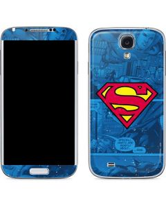 Superman Logo Galaxy S4 Skin