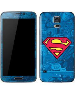 Superman Logo Galaxy S5 Skin