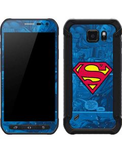 Superman Logo Galaxy S6 Active Skin