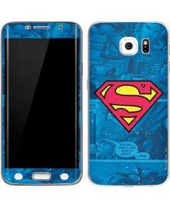 Superman Logo Galaxy S6 Edge Skin