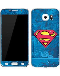 Superman Logo Galaxy S6 Skin