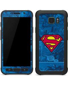 Superman Logo Galaxy S7 Active Skin
