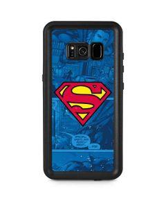 Superman Logo Galaxy S8 Plus Waterproof Case