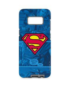 Superman Logo Galaxy S8 Pro Case