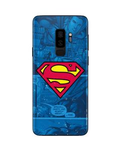 Superman Logo Galaxy S9 Plus Skin