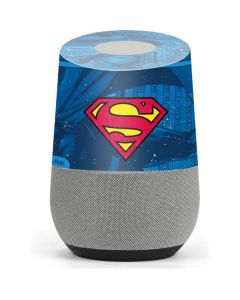 Superman Logo Google Home Skin