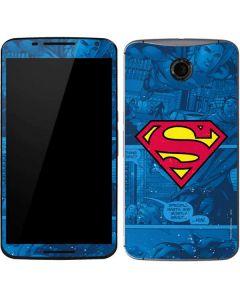 Superman Logo Google Nexus 6 Skin