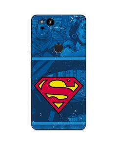 Superman Logo Google Pixel 2 Skin