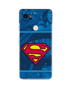 Superman Logo Google Pixel 2 XL Skin