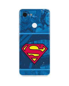 Superman Logo Google Pixel 3 Skin