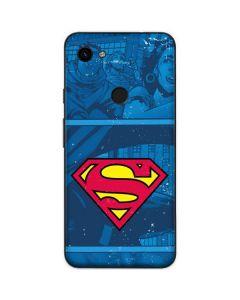Superman Logo Google Pixel 3a Skin