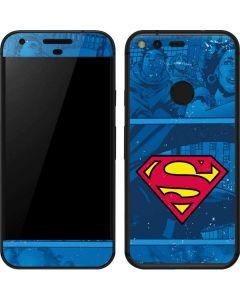 Superman Logo Google Pixel Skin