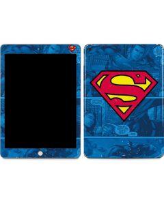 Superman Logo Apple iPad Skin