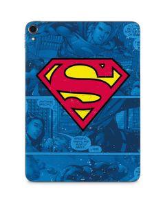Superman Logo Apple iPad Pro Skin