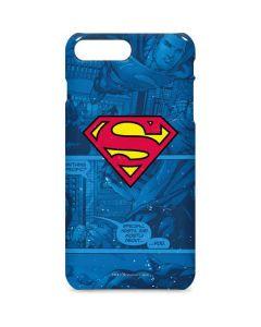 Superman Logo iPhone 8 Plus Lite Case