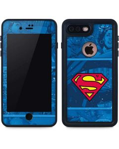 Superman Logo iPhone 8 Plus Waterproof Case