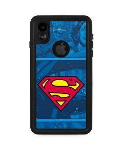 Superman Logo iPhone XR Waterproof Case