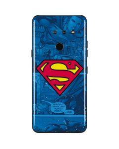 Superman Logo LG G8 ThinQ Skin