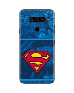 Superman Logo LG V40 ThinQ Skin