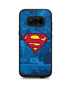 Superman Logo LifeProof Fre Galaxy Skin