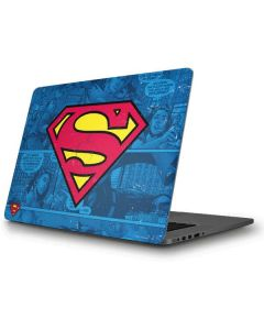Superman Logo Apple MacBook Pro Skin