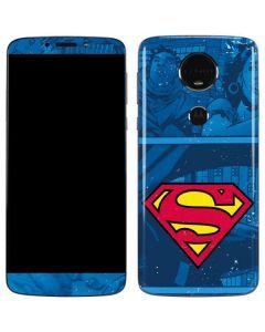 Superman Logo Moto E5 Plus Skin