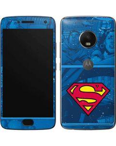 Superman Logo Moto G5 Plus Skin