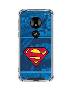 Superman Logo Moto G7 Play Clear Case