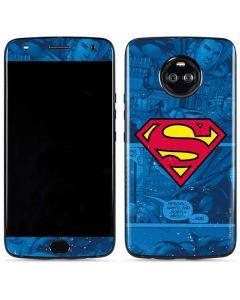 Superman Logo Moto X4 Skin