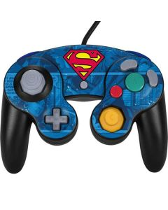 Superman Logo Nintendo GameCube Controller Skin