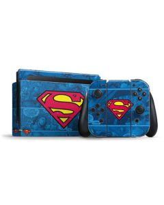 Superman Logo Nintendo Switch Bundle Skin