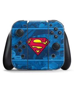 Superman Logo Nintendo Switch Joy Con Controller Skin
