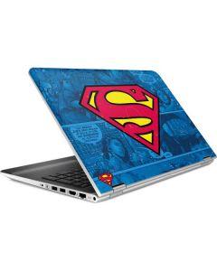 Superman Logo HP Pavilion Skin