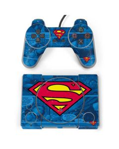 Superman Logo PlayStation Classic Bundle Skin
