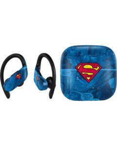Superman Logo PowerBeats Pro Skin