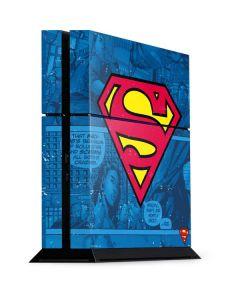 Superman Logo PS4 Console Skin