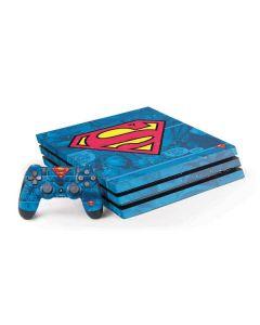 Superman Logo PS4 Pro Bundle Skin