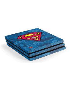 Superman Logo PS4 Pro Console Skin
