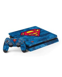 Superman Logo PS4 Slim Bundle Skin