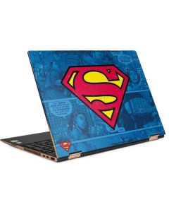 Superman Logo HP Spectre Skin