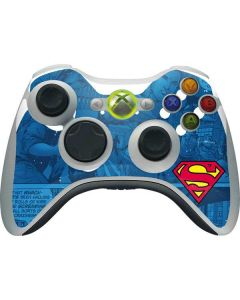 Superman Logo Xbox 360 Wireless Controller Skin