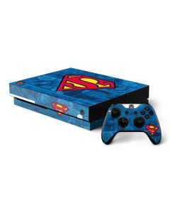 Superman Logo Xbox One X Bundle Skin