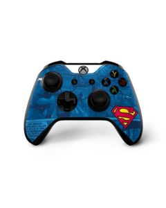 Superman Logo Xbox One X Controller Skin