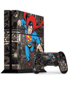 Superman Mixed Media PS4 Console and Controller Bundle Skin