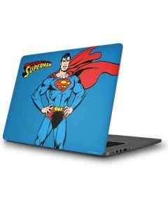 Superman Portrait Apple MacBook Pro Skin