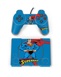 Superman Portrait PlayStation Classic Bundle Skin