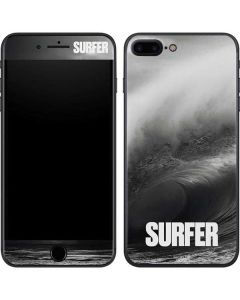 SURFER Black and White Wave iPhone 7 Plus Skin