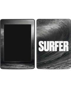 SURFER Black and White Wave Amazon Kindle Skin