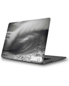 SURFER Black and White Wave Apple MacBook Pro Skin