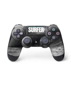 SURFER Black and White Wave PS4 Pro/Slim Controller Skin